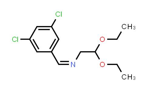 1000210-73-0 | (Z)-1-(3,5-Dichlorophenyl)-N-(2,2-diethoxyethyl)methanimine