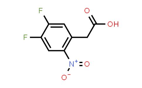 1000339-22-9 | 2-(4,5-Difluoro-2-nitrophenyl)acetic acid