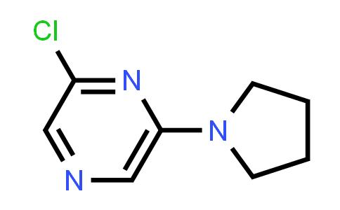1000339-30-9 | Pyrazine, 2-chloro-6-(1-pyrrolidinyl)-