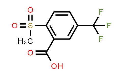 1000339-64-9 | Benzoic acid, 2-(methylsulfonyl)-5-(trifluoromethyl)-
