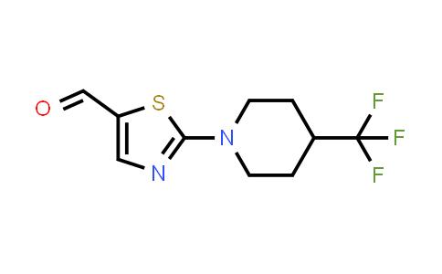 1000339-88-7 | 5-Thiazolecarboxaldehyde, 2-[4-(trifluoromethyl)-1-piperidinyl]-