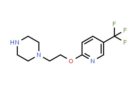 1000339-99-0 | Piperazine, 1-[2-[[5-(trifluoromethyl)-2-pyridinyl]oxy]ethyl]-