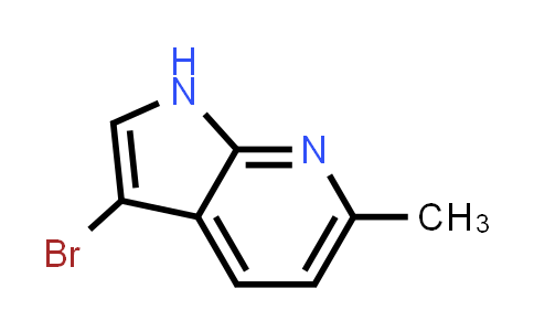 1000340-28-2 | 3-Bromo-6-methyl-1H-pyrrolo[2,3-b]pyridine
