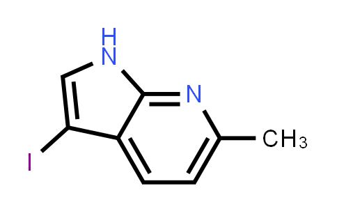 1000340-29-3 | 3-Iodo-6-methyl-1H-pyrrolo[2,3-b]pyridine
