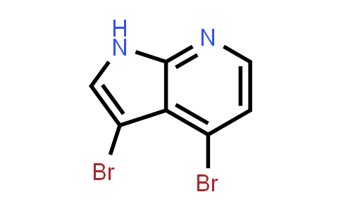 1000340-33-9 | 3,4-Dibromo-1H-pyrrolo[2,3-b]pyridine