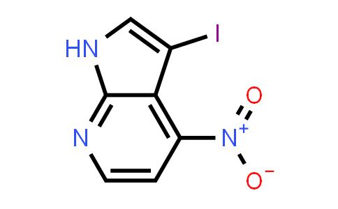 1000340-40-8 | 3-Iodo-4-nitro-1H-pyrrolo[2,3-b]pyridine