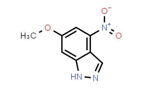 1000341-08-1 | 6-Methoxy-4-nitro-1H-indazole