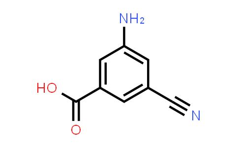 1000341-18-3 | 3-Amino-5-cyanobenzoic acid