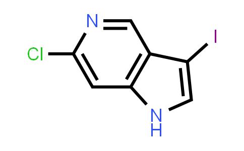 1000341-55-8 | 6-Chloro-3-iodo-1H-pyrrolo[3,2-c]pyridine