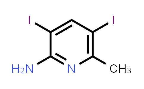 1000342-88-0 | 3,5-Diiodo-6-methylpyridin-2-amine