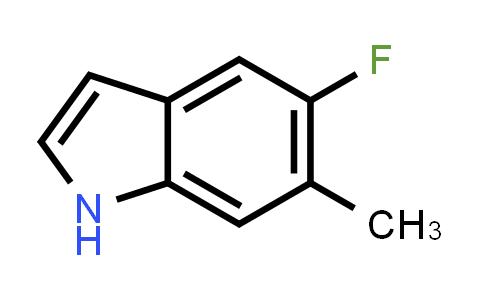 1000343-16-7 | 1H-Indole, 5-fluoro-6-methyl-