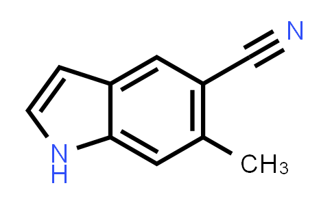 1000343-22-5 | 5-Cyano-6-methyl indole