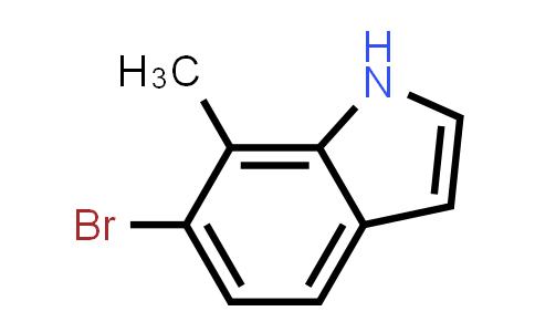 1000343-89-4 | 6-Bromo-7-methyl-1H-indole