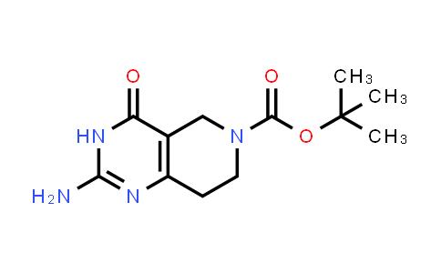 1000386-01-5 | tert-Butyl 2-amino-4-oxo-3,5,7,8-tetrahydropyrido[4,3-d]pyrimidine-6(4H)-carboxylate
