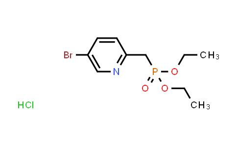 1000400-92-9 | Phosphonic acid, P-[(5-bromo-2-pyridinyl)methyl]-, diethyl ester, hydrochloride (1:1)
