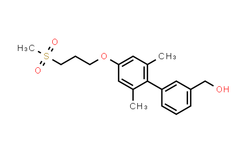 1000413-85-3 | (2',6'-Dimethyl-4'-(3-(methylsulfonyl)propoxy)biphenyl-3-yl)methanol