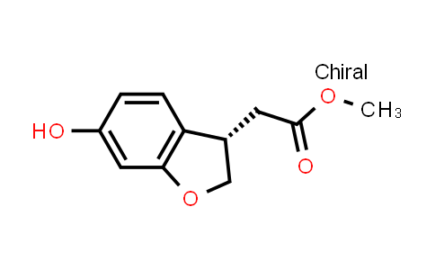 1000414-38-9 | (S)-methyl 2-(6-hydroxy-2,3-dihydrobenzofuran-3-yl)acetate