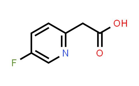 1000515-83-2   2-(5-Fluoropyridin-2-yl)acetic acid