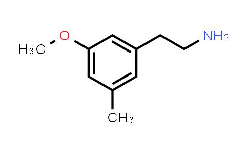 1000520-77-3 | 2-(3-Methoxy-5-methylphenyl)ethan-1-amine