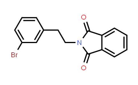 1000546-99-5 | 1H-Isoindole-1,3(2H)-dione, 2-[2-(3-bromophenyl)ethyl]-