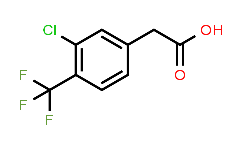 1000568-54-6 | Benzeneacetic acid, 3-chloro-4-(trifluoromethyl)-