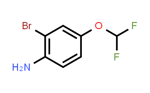 1000574-79-7 | 2-Bromo-4-(difluoromethoxy)aniline