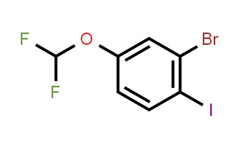 1000575-02-9 | 2-Bromo-4-(difluoromethoxy)-1-iodobenzene