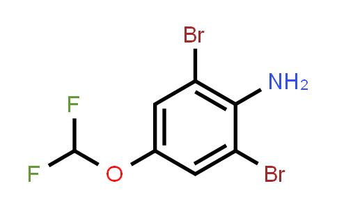1000575-08-5   2,6-Dibromo-4-(difluoromethoxy)aniline