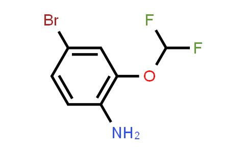1000575-14-3 | 4-Bromo-2-(difluoromethoxy)aniline