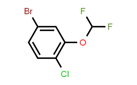 1000575-20-1 | 4-Bromo-1-chloro-2-(difluoromethoxy)benzene