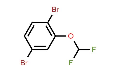 1000575-26-7 | 1,4-Dibromo-2-(difluoromethoxy)benzene