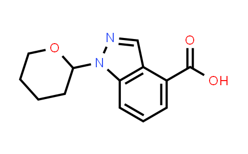 1000576-23-7 | 1H-Indazole-4-carboxylic acid, 1-(tetrahydro-2H-pyran-2-yl)-