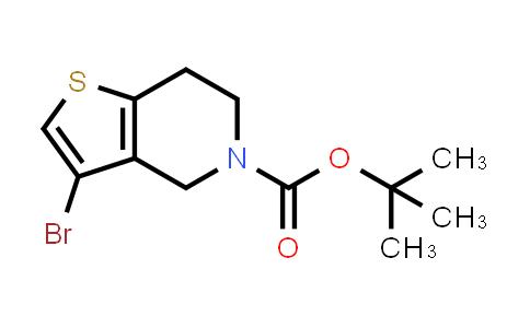 1000577-81-0 | tert-Butyl 3-bromo-6,7-dihydrothieno[3,2-c]pyridine-5(4H)-carboxylate