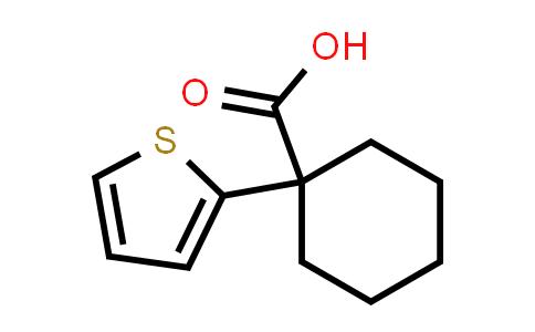 100058-72-8 | 1-(Thiophen-2-yl)cyclohexane-1-carboxylic acid