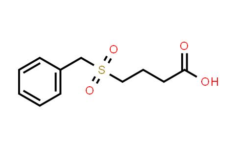 100059-54-9 | 4-(Benzylsulfonyl)butanoic acid