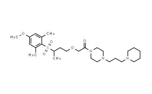 1000596-61-1 | Ethanone, 2-[3-[(4-methoxy-2,6-dimethylphenyl)sulfonyl]butoxy]-1-[4-[3-(1-piperidinyl)propyl]-1-piperazinyl]-