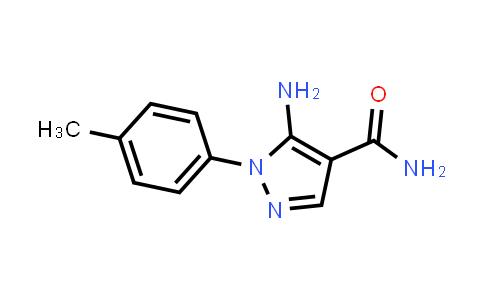 100061-56-1 | 5-Amino-1-(4-methylphenyl)-1H-pyrazole-4-carboxamide