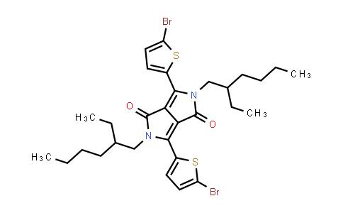 1000623-95-9 | 3,6-Bis(5-bromothiophen-2-yl)-2,5-bis(2-ethylhexyl)-2,5-dihydropyrrolo[3,4-c]pyrrole-1,4-dione
