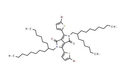1000623-98-2 | 3,6-Bis(5-bromo-2-thienyl)-2,5-bis(2-hexyldecyl)pyrrolo[3,4-c]pyrrole-1,4(2H,5H)-dione