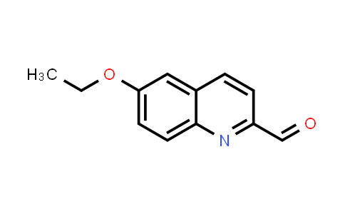 100063-12-5 | 6-Ethoxyquinoline-2-carbaldehyde