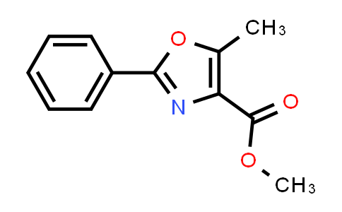 100063-41-0 | 4-Oxazolecarboxylic acid, 5-methyl-2-phenyl-, methyl ester