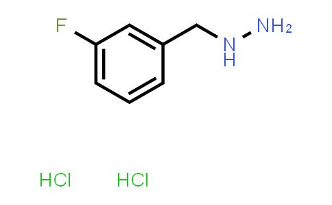 1000805-94-6 | (3-Fluorobenzyl)hydrazine dihydrochloride