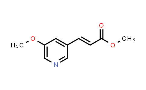 1000896-01-4 | Methyl 3-(5-methoxypyridin-3-yl)acrylate