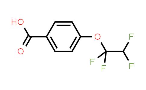 10009-25-3 | Benzoic acid, 4-(1,1,2,2-tetrafluoroethoxy)-