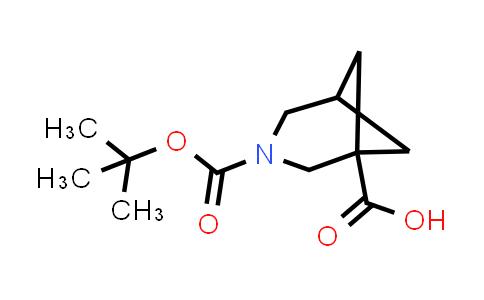 1000931-22-5 | 3-(tert-Butoxycarbonyl)-3-azabicyclo[3.1.1]heptane-1-carboxylic acid