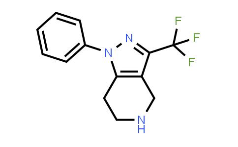 1000933-91-4 | 4,5,6,7-Tetrahydro-1-phenyl-3-(trifluoromethyl)-1H-pyrazolo[4,3-c]pyridine