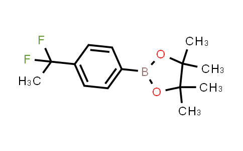 1000994-94-4 | 1,3,2-Dioxaborolane, 2-[4-(1,1-difluoroethyl)phenyl]-4,4,5,5-tetramethyl-