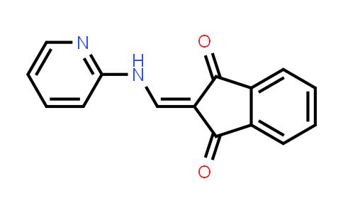 1001042-17-6   1H-Indene-1,3(2H)-dione, 2-[(2-pyridinylamino)methylene]-