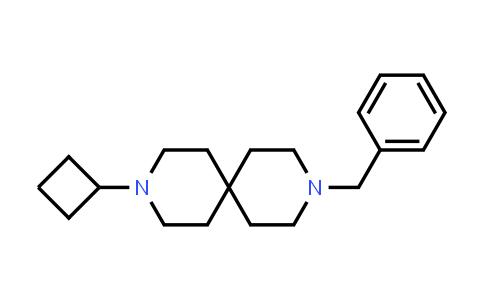 1001054-49-4 | 3,9-Diazaspiro[5.5]undecane, 3-cyclobutyl-9-(phenylmethyl)-