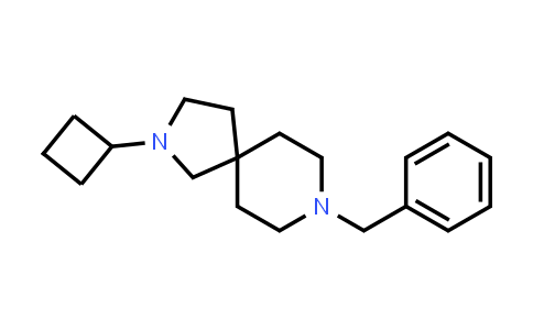 1001054-51-8 | 2,8-Diazaspiro[4.5]decane, 2-cyclobutyl-8-(phenylmethyl)-